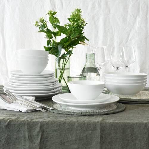 Antibes Porcelain Dinner Set 20 Piece - 4 Settings