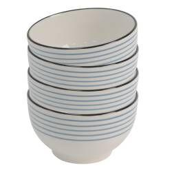 Dartmouth Stoneware Cereal Bowl - Set of 4 - 14cm