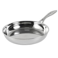 Elite Tri-Ply Frying Pan - Uncoated 26cm