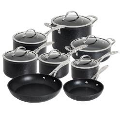 ProCook Professional Granite Cookware Set - 8 Piece
