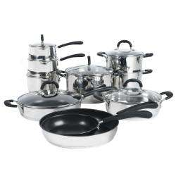 ProCook Gourmet Steel Cookware Set - 10 Piece