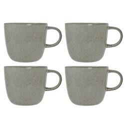 Oslo Stoneware Mug - Set of 4 - 360ml