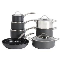 Professional Anodised Cookware Set - 8 Piece
