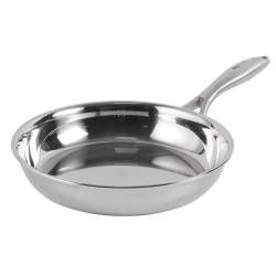 Elite Tri-Ply Frying Pan - Uncoated 22cm