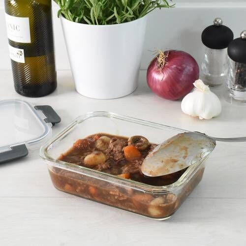 ProCook Glass Ovenware Airtight Storage Dish 1L