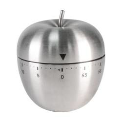 ProCook Mechanical Timer - Stainless Steel Apple