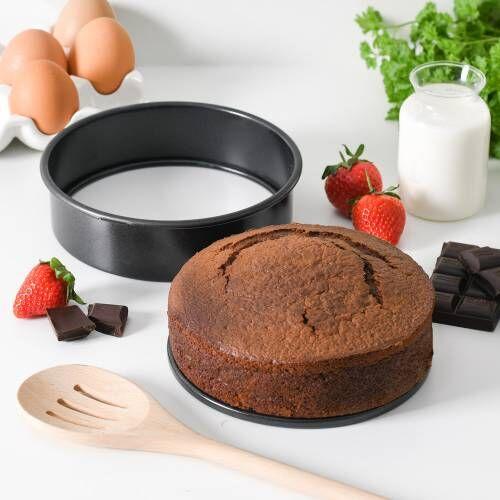 ProCook Non-Stick Loose Bottom Shallow Cake Tin 15cm / 6in