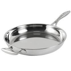 Elite Tri-Ply Frying Pan - Uncoated 30cm