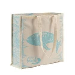 Life's a Beach Cotton Bag - Whale