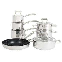 ProCook Elite Tri-ply Cookware Set - 8 Piece