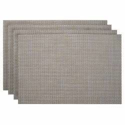 ProCook Rectangular Placemats - Set of 4 - Checkerboard Woven