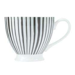 ProCook Footed Mug - Grey Stripes