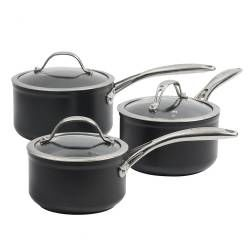 ProCook Professional Ceramic Saucepan Set - 3 Piece