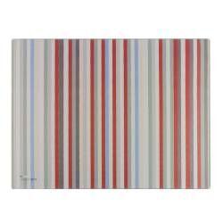 Designpro Toughened Glass Worktop Protector - Stripes