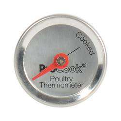ProCook Poultry Thermometer - Stainless Steel