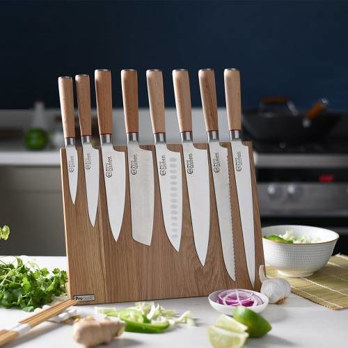 Nihon X50 Knife Set 8 Piece and Magnetic Block