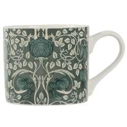 ProCook Patterned Mug - Green Poppies