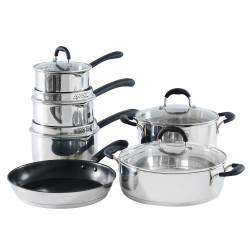 ProCook Gourmet Steel Cookware Set - 6 Piece Chef