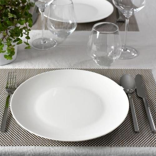 Malvern Bone China Dinner Plate Set of 4 - 27cm
