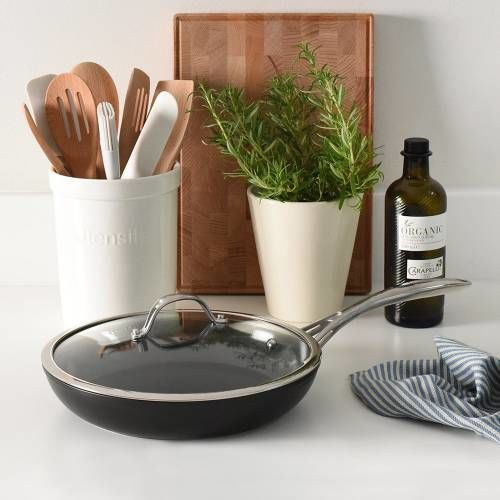 Professional Ceramic Frying Pan with Lid 28cm