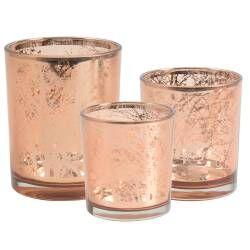 ProCook Candle Holder Copper Set - 3 Piece