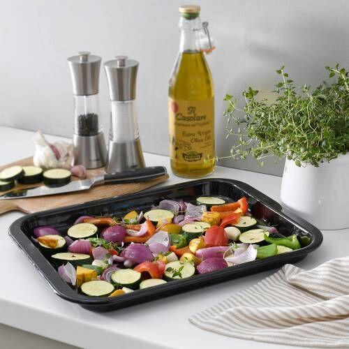 ProCook Enamel Baking Tray 35.5cm x 28cm x 2.5cm