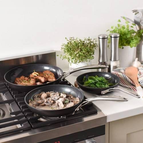 Professional Ceramic Frying Pan Set 3 Piece