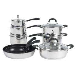 Gourmet Stainless Steel Cookware Set - 8 Piece