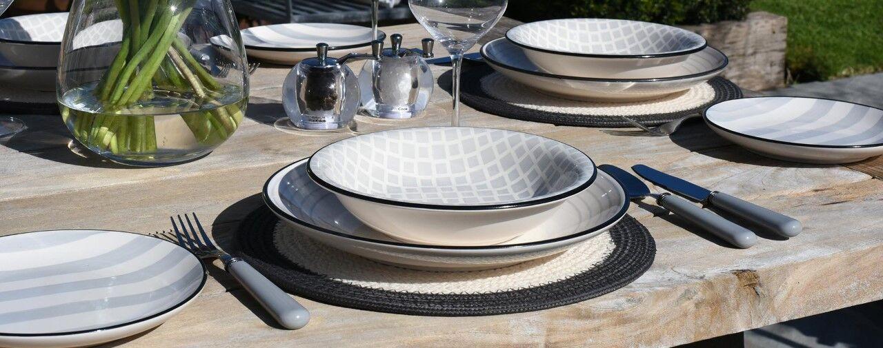 Salcombe Stoneware Set
