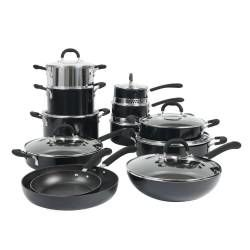 Gourmet Non-Stick Cookware Set - 12 Piece