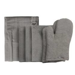 ProCook Kitchen Linen 4 Piece Set - Grey