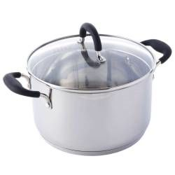 Gourmet Stainless Steel Stockpot & Lid - 24cm / 5.9L