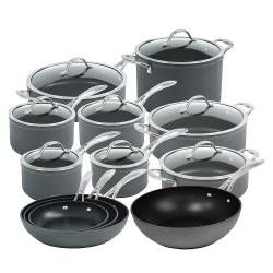 ProCook Professional Anodised Cookware Set - 12 Piece