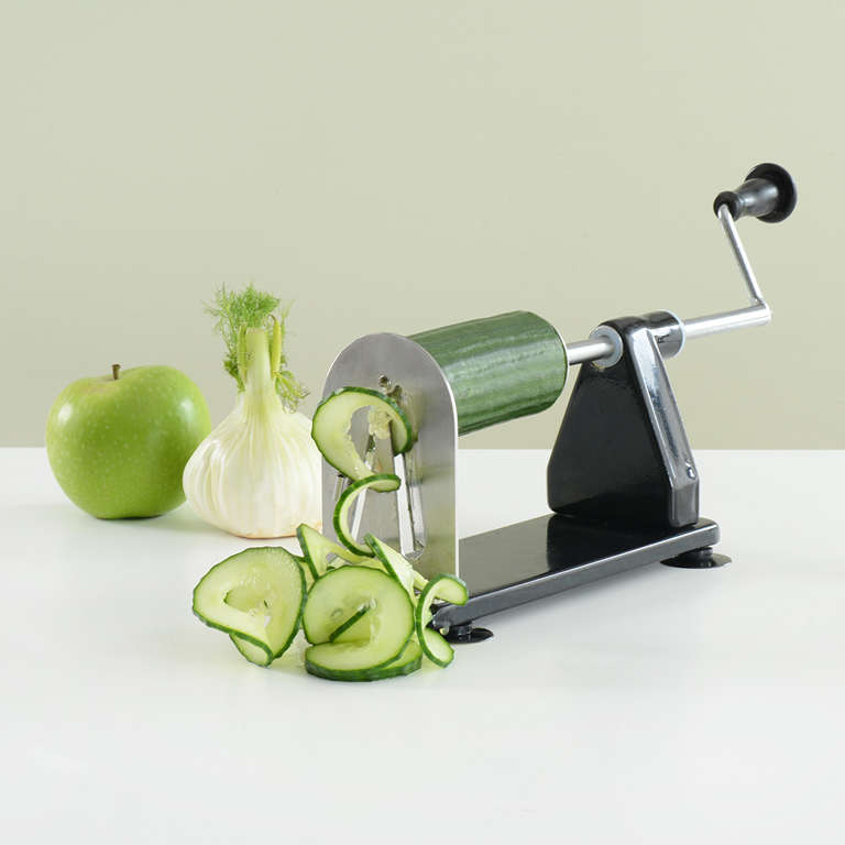 Spiralizer Black And Stainless Steel Mandolines