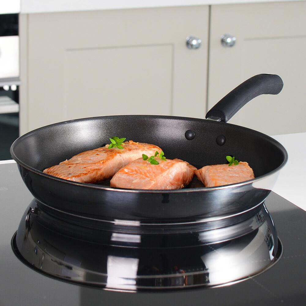 Gourmet Stainless Steel Frying Pan