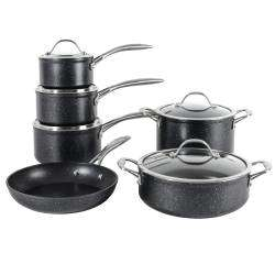ProCook Professional Granite Cookware Set - 6 Piece