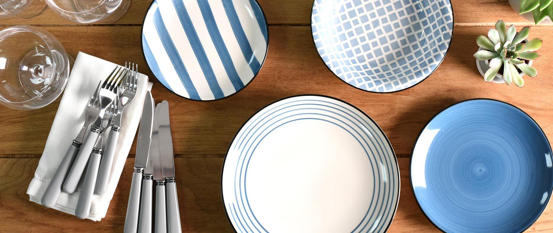 Dartmouth Stoneware Set on dinning table