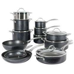 ProCook Professional Granite Cookware Set - 12 Piece